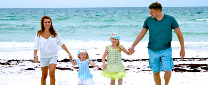 Family enjoy Andman vacation