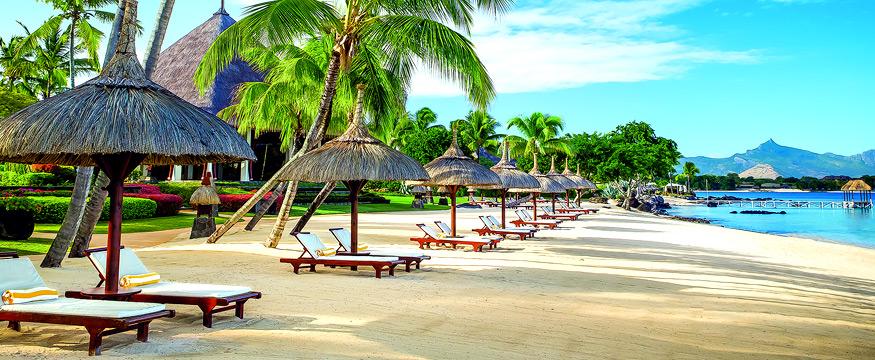 La Cuvette Beach in Mauritius