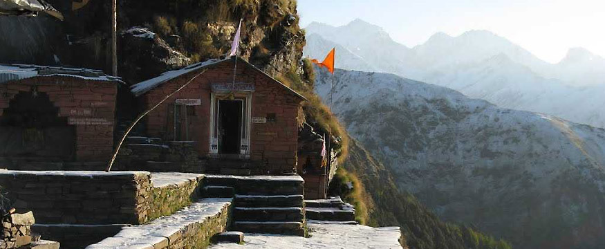 Rudranath Temple dedicated to god Shiva