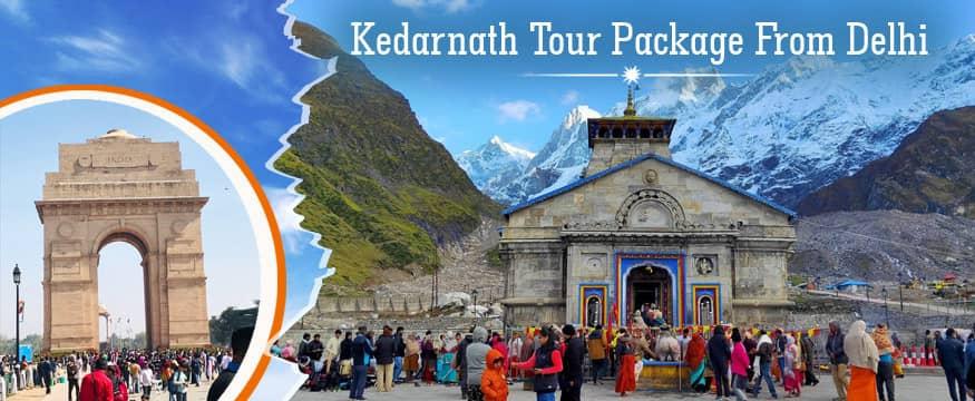 Delhi to Kedarnath tour package