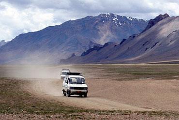 Trans Himalayan Jeep Safari