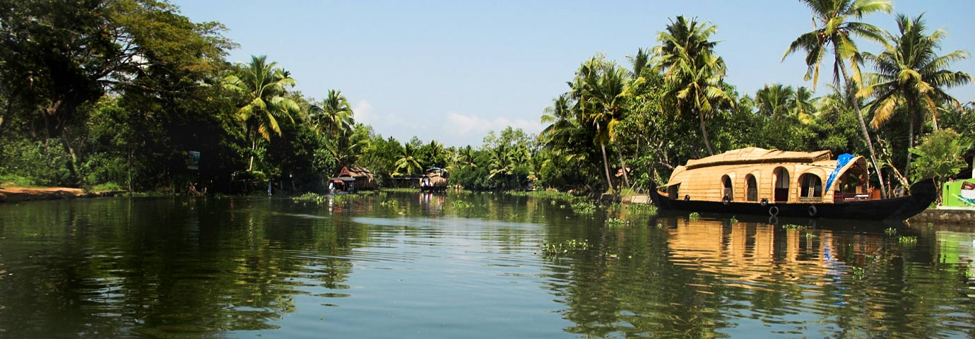 Backwater stretch of Ashtamudi