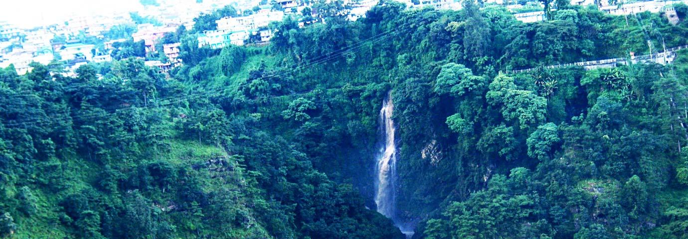 Bishop falls Shillong