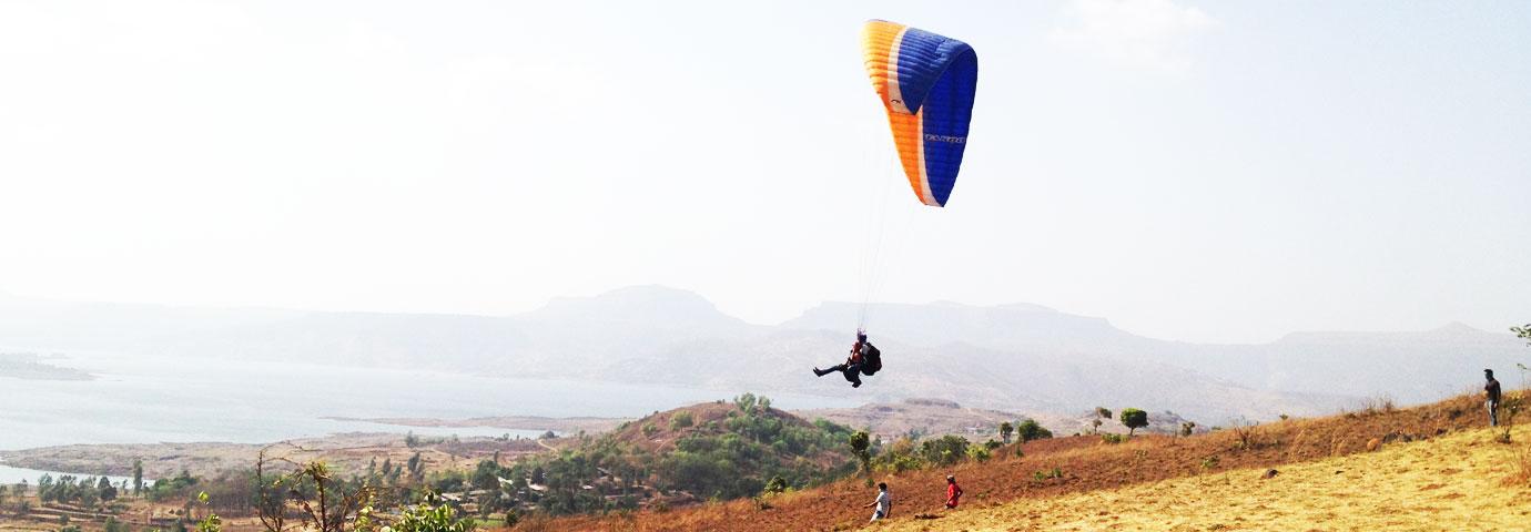 Pavana Kamshet Paragliding